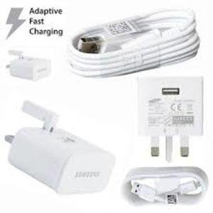Samsung Fast Charger With USB Cable Travel Adapter for Samsung - White