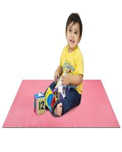 Rubber Cot Sheet For Kids/Baby Multicolor 90X60 Large