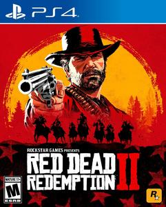 RED DEAD REDEMPTION 2 PS4 DVD