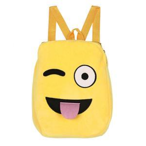 BlingBlingStar Cute Emoji Emoticon Shoulder School Child Bag Backpack Satchel Rucksack Handbag