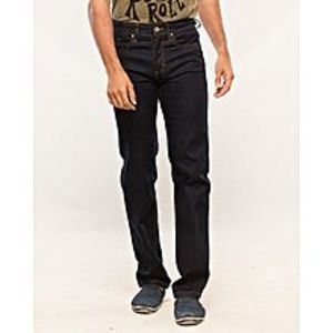 Alam's Store Dark Blue Slim Fit Stretchable Jeans for Men