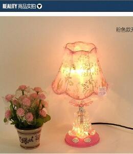 European Style Cloth Table Lamp