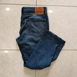 Dark Blue Denim Jeans Men