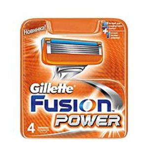Gillette FusionPack of 4 - Fusion Power Blades