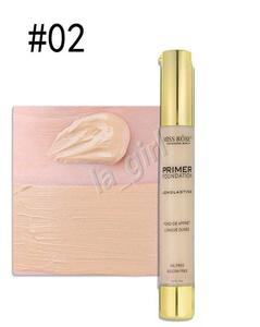 Face Lliquid Foundation Cream Waterproof Long Lasting Makeup Primer Concealer 30Ml Oil-Control Bb Cream #2