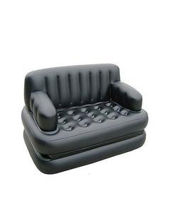 Air O Sofa Cum Bed - 5 In 1 - Black