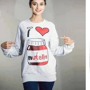 Nutella Sweat Shirt For Her