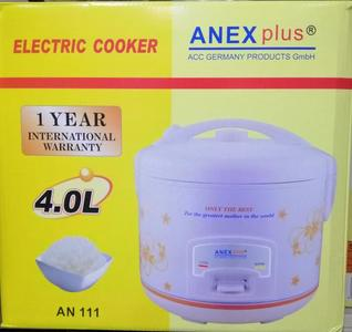 Electric Rice & Pressure Cooker 4 Liter Anex Plus AN 111 Germany (Brand Warranty)