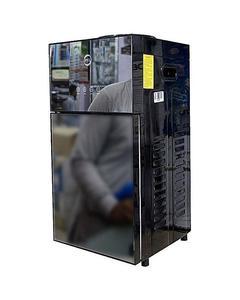 PEL Water Dispenser - 115 - Table Top - Hot & Cool - Glass Door - Reflecting Black