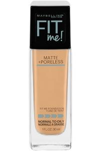Maybelline New York Fit Me Foundation, 125 Nude Beige, 30 ml