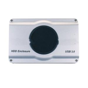 High Speed USB3.0 SATA Hard Disk Box HDD Enclosure Case With Radiator Fan For 2.5 / 3.5 Inches Hard Disk