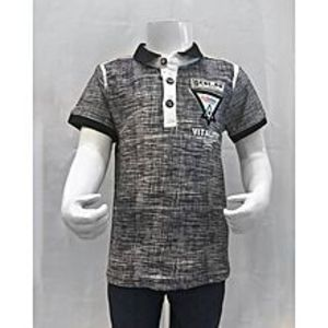Tiny TodsNavy Blue Premium Quality Imported Polo Shirt For Boys