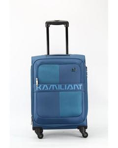 Oromo -81cm Spinner-4 Wheels Soft Trolley Suitcase-Teal Blue