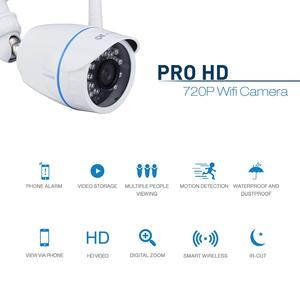 Proxelle ProxEye-201 ProxEye Smart WiFi Surveillance Camera - HD Video with IP66 Waterproof Coating, Perfect for Outdoors - Get Real-Time Updates Straight to Your Phone