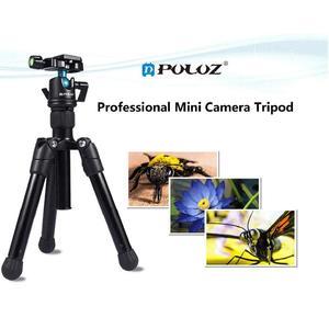 PULUZ Camera Tripod Compact 3KG Load 360 Degrees Ball Head Camcorder Panoramic