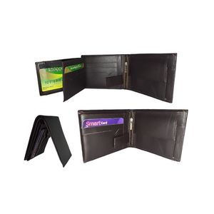 STATIONARY WORLD 100% PURE COW LEATHER WALLET FOR MEN