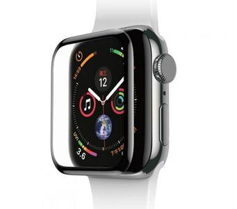 Baseus SGAPWA4-B01 Curved Screen Tempered Glass Screen Protector for Apple Watch 38 mm - black