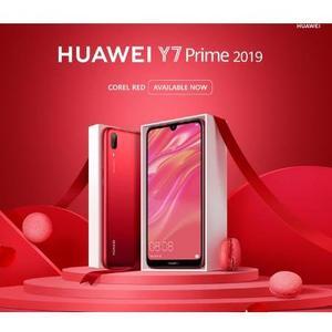 Huawei Y7 Prime 2019 - 3gb ram 32 gb rom - 4000mAh Battery - Red