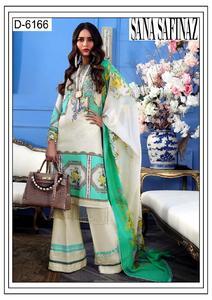 Sana Safinaz,Lawn suit with chiffon duppta (3pc)