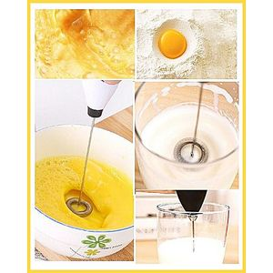Get desired products Portable Hand Blender For Coffee  Egg Beater  Mixer  Lassi  Milk
