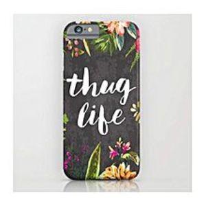 Virgin TeezThug Life Mobile Cover ( IPhone 6/6S Plus)