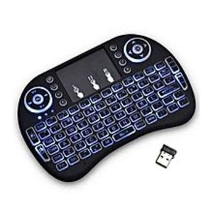 Lighting Mini Wireless Keyboard (Touchpad as Mouse)