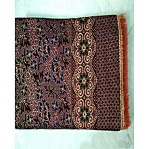 Al Aziz traders MULTANI GUL TEX KING SIZE MULTI COLOR  PURE SILK DOUBLE  BED SHEET