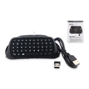 TE Bluetooth Wireless Keyboard Chatpad Controller Gamepad For Playstation 4 Ps4