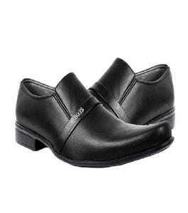 Black Leather Formal Shoes For Men
