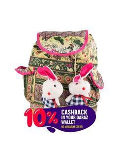 Blue Backpack School Bag Notebook Bag Laptop Bag Travel Bag for for School and College