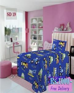 Single Bed Sheet Sd 19