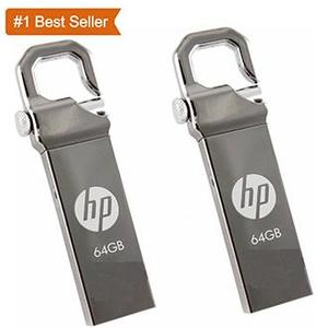 HP METAL USB FLASH 64GB, 32GB, 16GB, 8GB, 4GB with 1 Year Offical Warranty