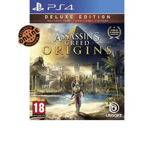 Ubisoft Assassins Creed Origins - Deluxe Edition - PS4