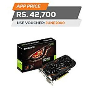 GigabyteGeForce® GTX 1060 6GB GDDR5 PCI Express 3.0 ATX Video Card