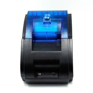 MHT-P58A 58mm Wireless Bluetooth USB Thermal Printer Receipt Machine Pos 80mm/s Print Speed EU Plug