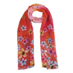 Flower Print Scarf Chiffon Shawl Scarves Fashion Beach Women