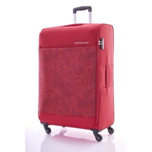 Darien Spinner 70 Cm 4 Wheels Trolley Bags - Jungle - Red