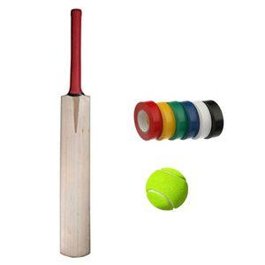 Fitness Pack of 3 - HS Peak 1000 Tape Ball Cricket Bat with CA Plus 10000 Tennis Balls & Tuff Black Tapes