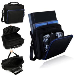 Carrying Bags For Sony PlayStation4 PS4 Black Multifunctional Travel Carry Cases