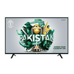 "TCL P62 - 40"" UHD Smart LED TV - Black"