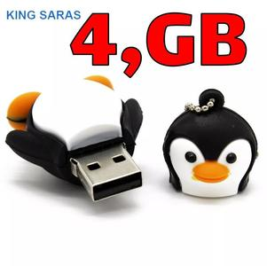 KING SARAS cartoon cute penguin style usb2.0 4GB 8GB 16GB 32GB 64GB pen drive USB Flash Drive