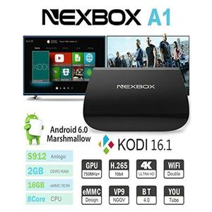 Android Smart TV Box NexBox A1 Octa-Core 2G+16G Android 6.0