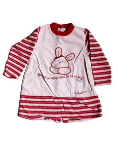 Strips Style Printed Fleece Sweater For Babies