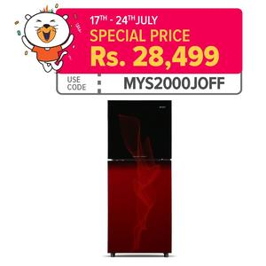 Orient Crystal 200 - Top Mount Refrigerator Red 200 Ltr - 07 Cft