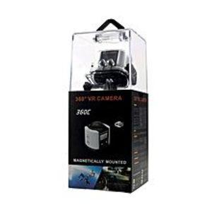 Shopznow360 Degree Panoramic VR Camera 4K Full HD WiFi Waterproof Sports Camera ? Black / White