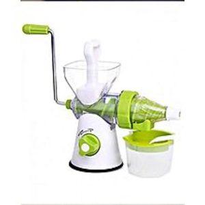 shopon3 in 1 - Handy Juicer, Meat Mincer & Grinder - Green & White