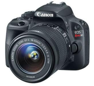 Canon EOS Rebel SL1 18-55mm IS STM Lens Kit DSLR Camera