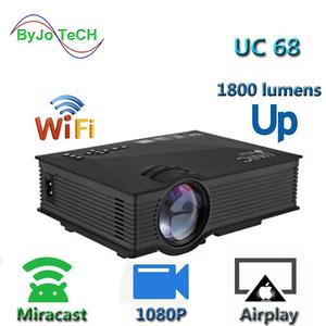 UNIC UC68 Multimedia Home Theatre Led Projector With HD 1080p Support Miracast Airplay