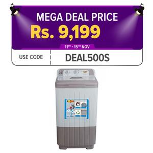Super Asia SD-525  Quick Spin Dryer 5Kg - Grey
