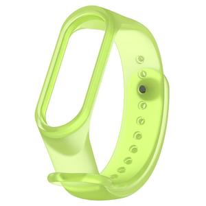 Translucent TPE Adjustable Watch Band Bracelet Strap for Xiaomi MI Band 3